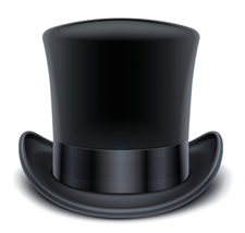 The Gentleman Closer top hat