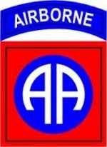 82 Airborne Division shoulder patch2