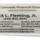 Comrade Financial Group Business Card