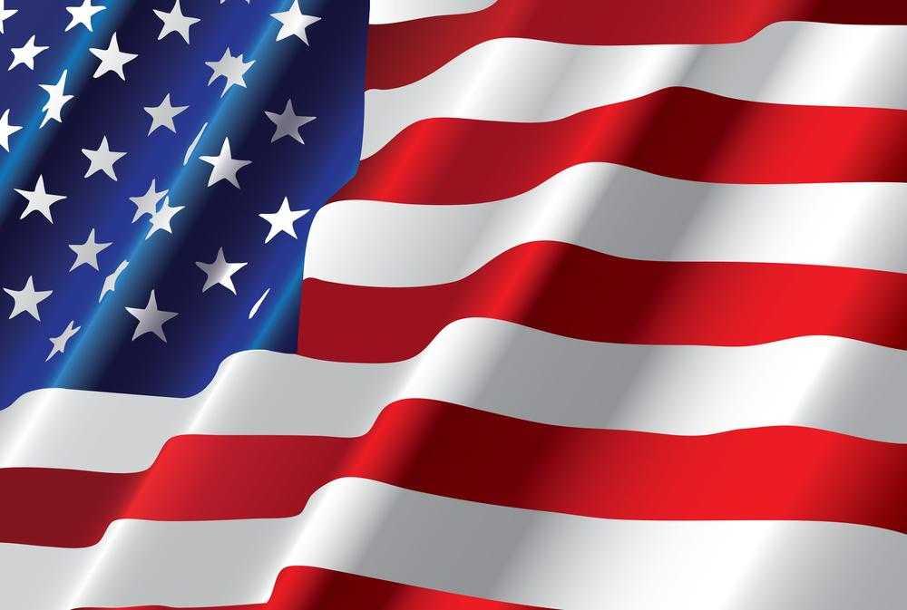 American Flag large 1000